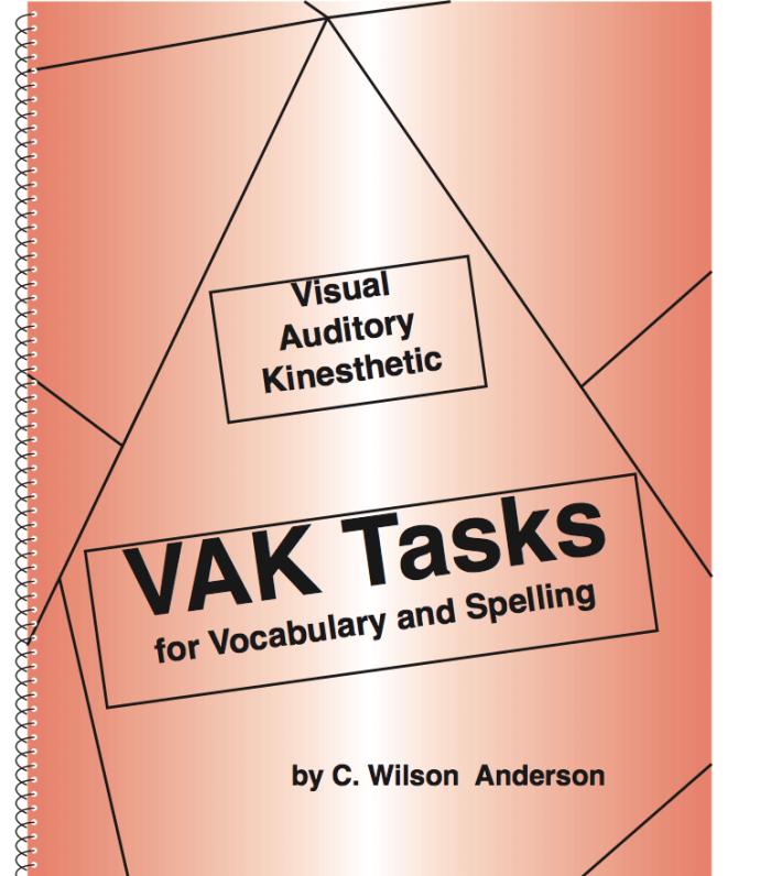 VAK Tasks Workbook (Grades 9 - Adult)