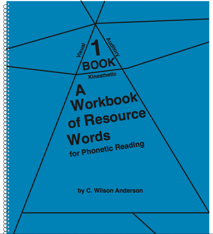 Workbook of Resource Words for Phonetic Reading – Book 1