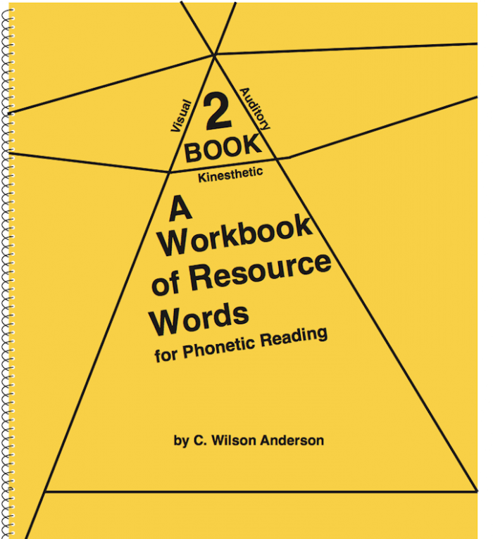 Workbook of Resource Words for Phonetic Reading – Book 2