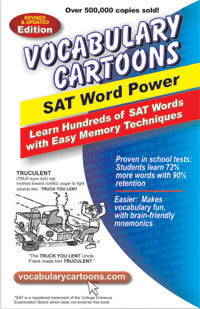 Vocabulary Cartoons I: SAT Word Power