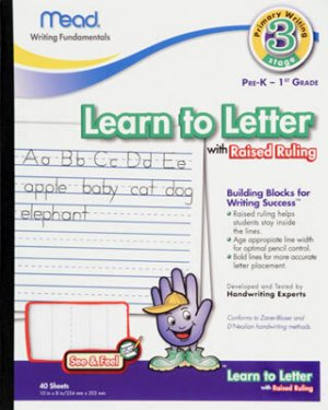Learn to Letter Paper (PreK-1)