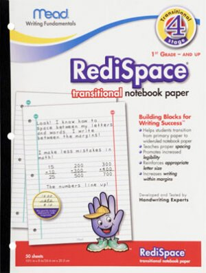 RediSpace transitional paper (1st and up)