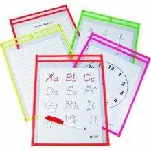9x12 Dry Erase Pocket - 10 pack (C-line)