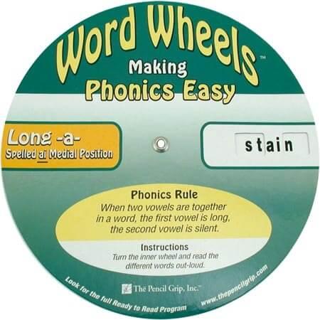 Word Wheels - Vowel Team Set