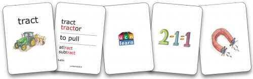 Root Word & Game Cards - Part 1
