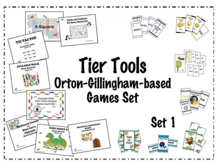 Tier Tools O-G Game Set 1 by Wendy Stacy