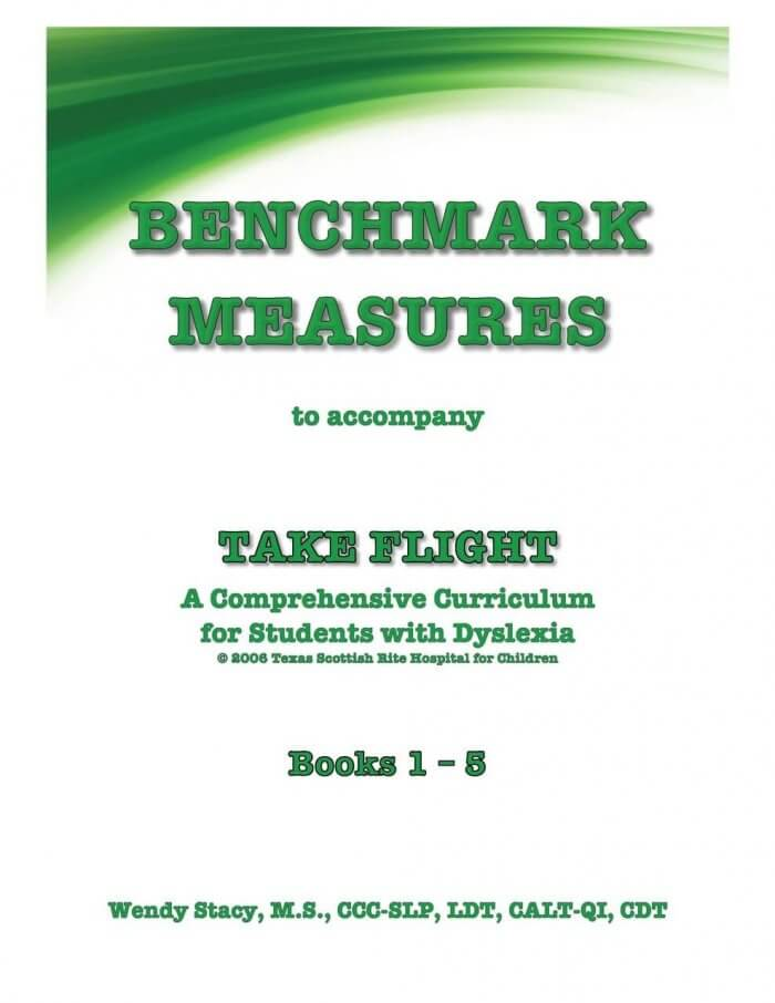 Benchmark Measures to accompany Take Flight by Wendy Stacy