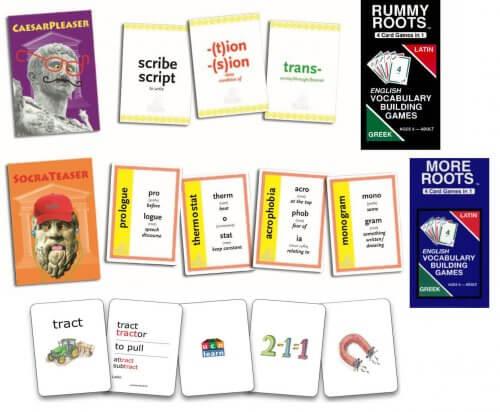Morphology Card Games Pack